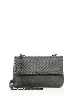 Olimpia Baby Intrecciato Leather Crossbody Bag