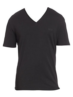 ed954f92c4f QUICK VIEW. HUGO. Stretch Cotton V-Neck Tee