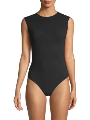 Lenox Sleeveless Microfiber Bodysuit by Alix