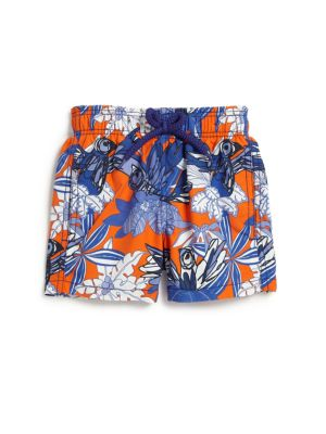 Toddlers  Little Boys Forest Parade Swim Trunks
