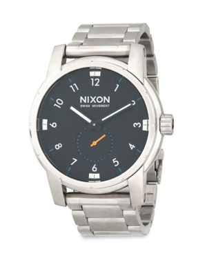 Nixon Patriot Stainless Steel Watch