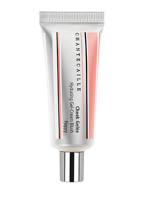 Image of A hydrating gel-cream blush that combines the freshness of an emulsion with the lasting power of a stain. Sheer yet vibrant pigments add instant color and luminosity for a radiant, youthful glow. Can be used on cheeks and eyes. Happy - a soft rose petal p