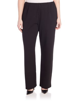 Plus Ponte Pants plus size,  plus size fashion plus size appare