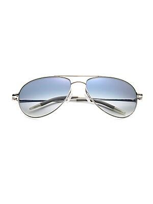 0fe4b9faaf9 Oliver Peoples - Benedict Aviator Sunglasses - saks.com