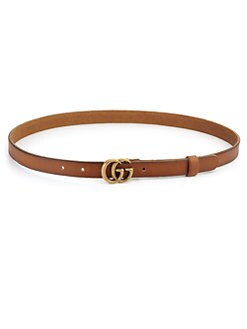 aa4d0f3c6ac Gucci. GG Buckle Leather Belt