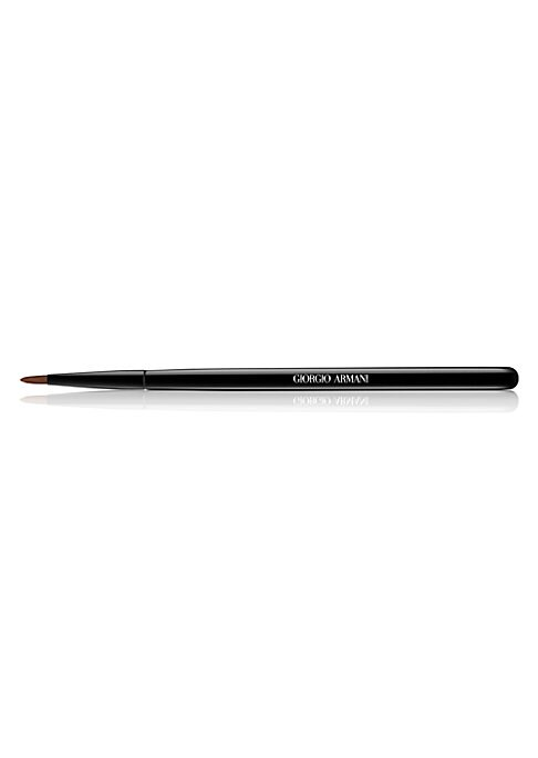 Image of The new Armani Maestro Eye Liner Brush gives precise and even application, allowing for better definition of the eye. The thin tip of the brush gives a fool-proof application close to the lash line. Made in France. Ask the experts. Our Beauty Advisors are