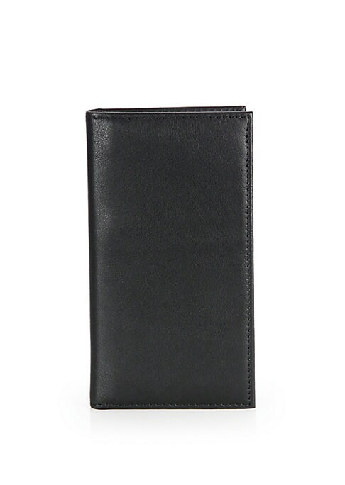 "Image of Conveniently carry your iPhone and other essentials all in one. Fits iPhone 6.Attached snap case. One bill compartment. Five card slots. Leather/plastic.4""W X 7""H.Imported."