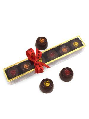 London Christmas Dark Chocolates