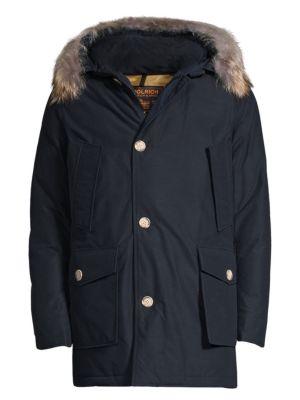 Fur-Trimmed Arctic Parka plus size,  plus size fashion plus size appare