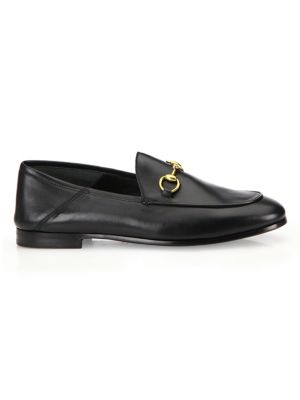 9c1ab93e0 Gucci - Brixton Leather Horsebit Loafers - saks.com