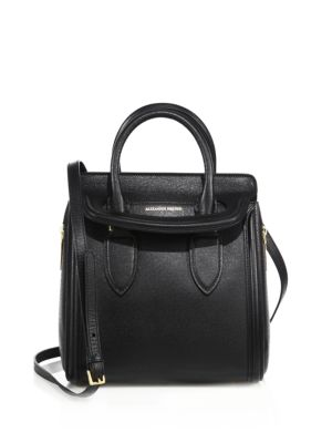 Heroine Small Textured Leather Tote