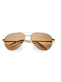 0921ba635f QUICK VIEW. Oliver Peoples. Benedict 16MM Aviator Sunglasses