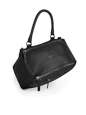 Givenchy - Pandora Medium Leather Shoulder Bag - saks.com e0040e12eb6a6