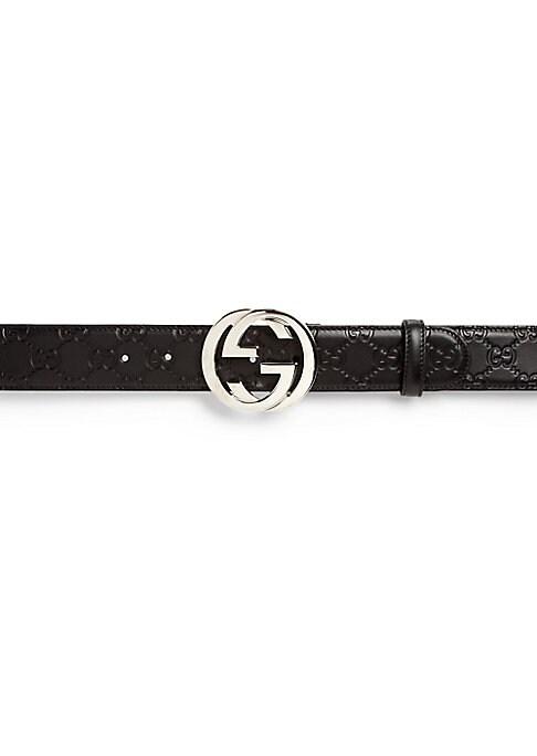 Mens Designer Leather Dress Belt Valley View Black