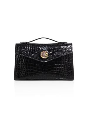 Ethan K K22 Crocodile Top-Handle Bag