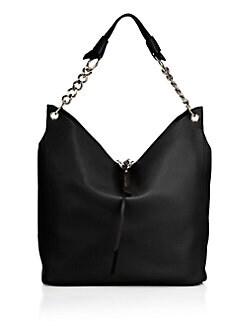778a06d17ef1 Jimmy Choo Raven Nappa Leather Hobo Bag