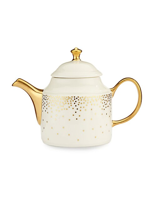 Image of Fine porcelain featuring a minimalist yet elegant pattern. Hand decorated. Porcelain.16 oz. capacity. Dishwasher safe. Made in USA. Items are made to order. Delivery can take up to 4 weeks.