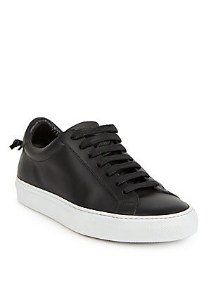 09fa5476466 Givenchy - Urban Street Knots Leather Low-Top Sneakers - saks.com