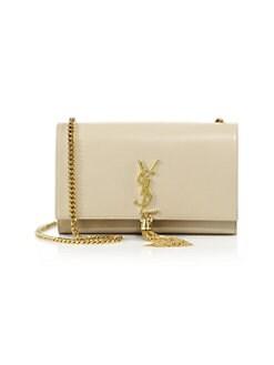 0b2f5cd80518 Saint Laurent. Medium Kate Monogram Leather Tassel Chain Shoulder Bag