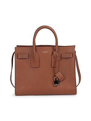 014ba24c05 Saint Laurent - Small Sac De Jour Grained Leather Satchel
