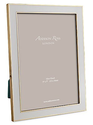 Addison Ross - Gold-Plated Chiffon Picture Frame - saks com