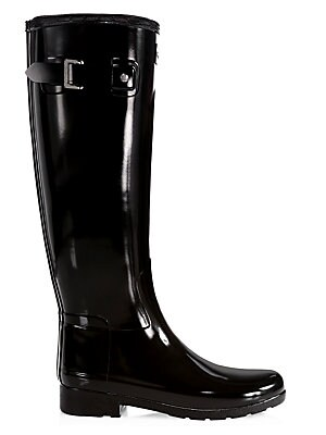 0b84696ab48 Hunter - Women's Refined Tall Gloss Rain Boots