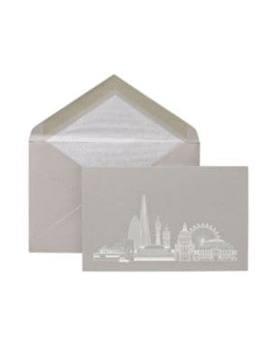London City Scape Cards/Set Of 10 by Smythson
