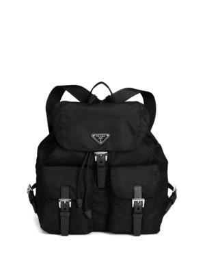 86c9991af1ca Prada - Small Nylon Backpack - saks.com