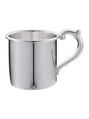 Image of Sterling Silver Plain Baby Cup