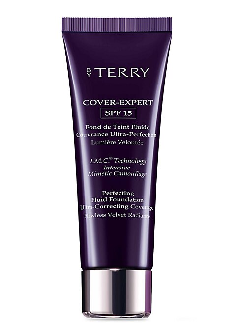 """Image of Inspired by the most advanced digital retouching technologies, this non-greasy, creamy-fluid foundation combines perfecting coverage with SPF 15 anti-UV protection. Its """"matte-stretch skin mimetic"""" texture with I.M.C* technology is a concentration of soft"""