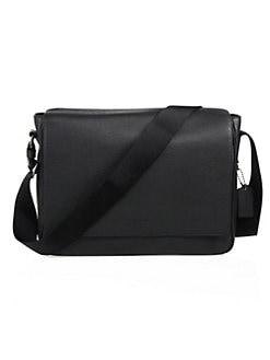 COACH. Metropolitan Pebbled Leather Messenger Bag 69f81596af169