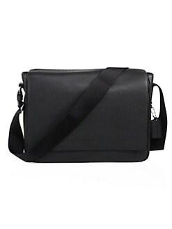 73b3389280db08 COACH. Metropolitan Pebbled Leather Messenger Bag