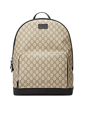 70b72c9cb Gucci - GG Supreme Canvas Backpack - saks.com