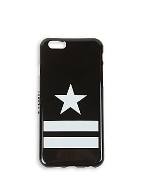 """Image of Stars and stripes lend sporty style while protecting your iPhone Fits iPhone 6 2.5""""W X 5.5""""H X 0.3""""D Plastic Imported. Men Accessories - Leather Goods > Saks Fifth Avenue. Givenchy. Color: Black."""
