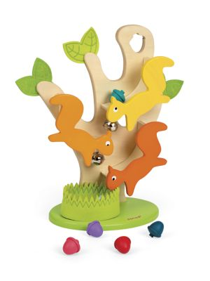 "Image of Entertaining developmental game for children. Eight pieces. Recommended for ages 1 and up.6"" X 13"" X 16"".Wood/water-based paint. Imported."