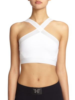 Brushed Tech Sports Bra by Heroine Sport