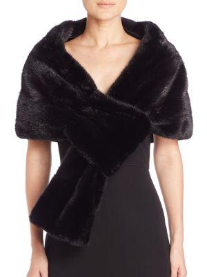 Zandra Rhodes For The Fur Salon Mink Stole