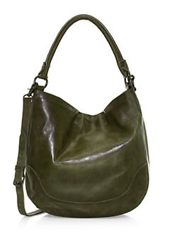 Quick View Frye Melissa Leather Hobo Bag