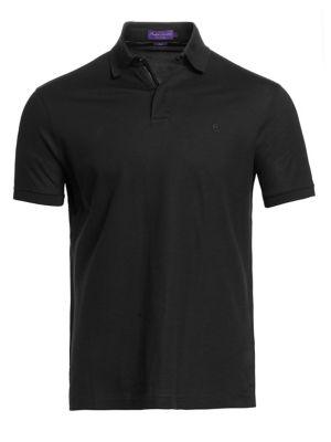 Ralph Lauren Purple Label Solid Polo Shirt