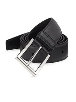 21a8523d272 Cinture Leather Belt BLACK. QUICK VIEW. Product image