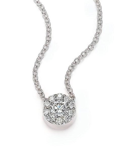 Fulfillment Diamond & 18K White Gold Pendant Necklace