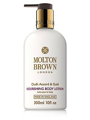 Molton Brown - Oudh Accord & Gold Nourishing Body Lotion/10 ...