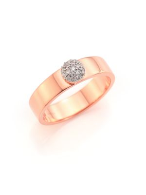 PHILLIPS HOUSE Love Always 5Mm Diamond & 14K Rose Gold Ring