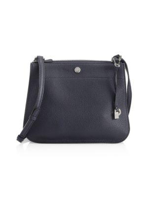 Loro Piana Milky Way Odessa Leather Crossbody Bag