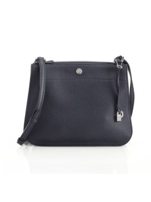 Milky Way Odessa Leather Crossbody Bag, Ombre