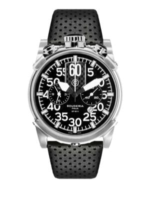 CT SCUDERIA Touring Stainless Steel Watch in Black