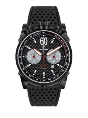 CT SCUDERIA Fibra Di Carbonio Stainless Steel Watch in Black