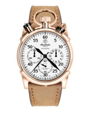 CT SCUDERIA Master Time Stainless Steel Watch in Rose Gold