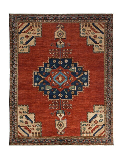 Solo Rugs Traditional Ziegler Hand Knotted Wool Area Rug Saksfifthavenue