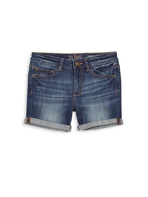 Girl's Piper Cuffed Denim Shorts